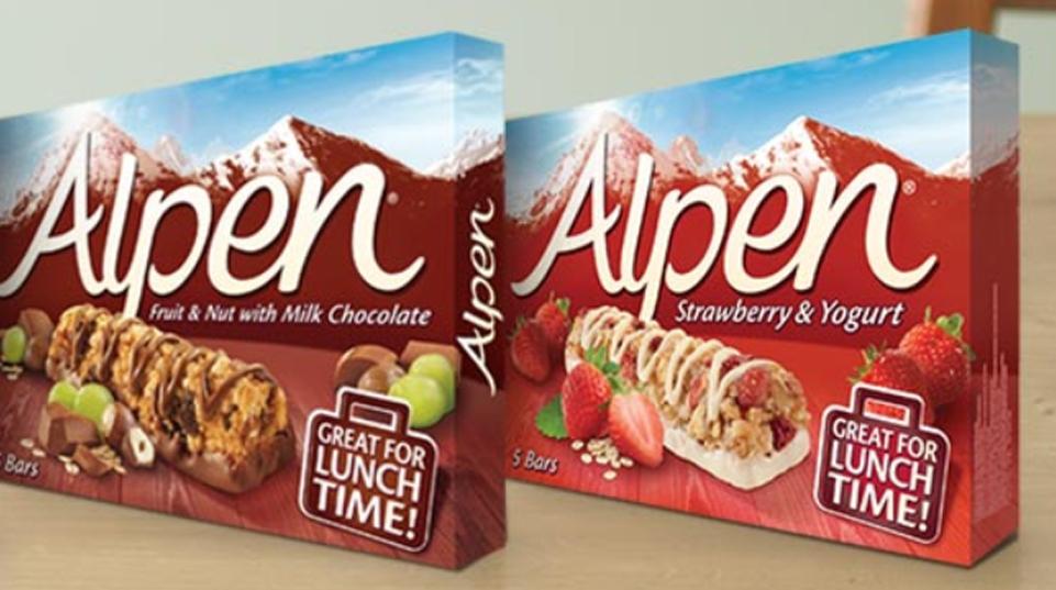 alpen snack bars